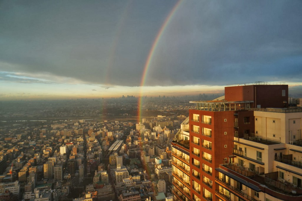 No.10 虹が浮かぶ天空の大パノラマ