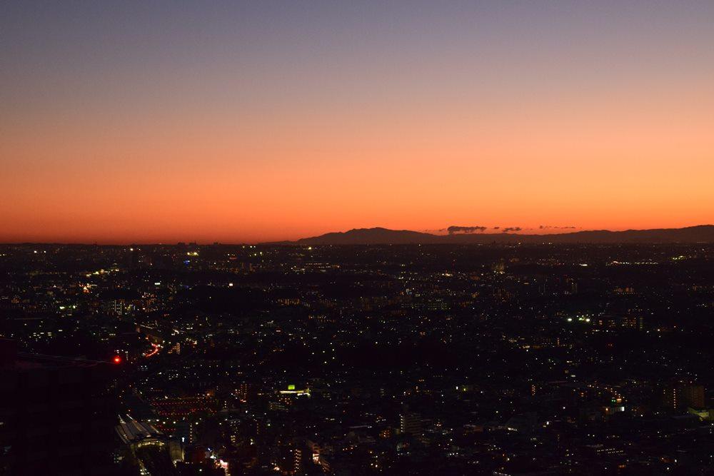 No 260 ミッドスカイタワーからの夜の眺望