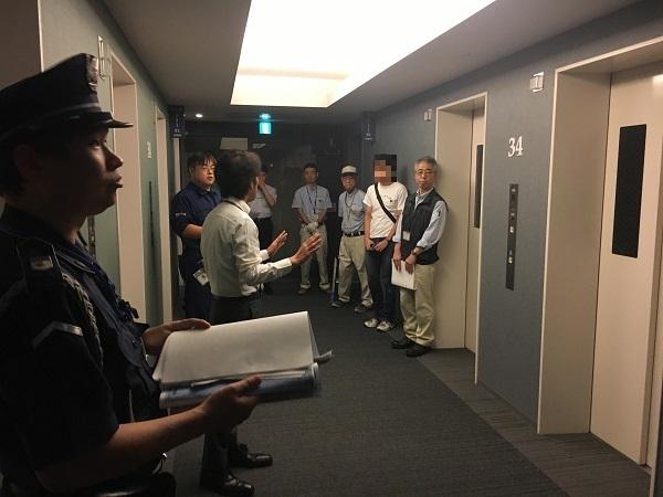 No 350 エレベーター救出訓練を実施しました。