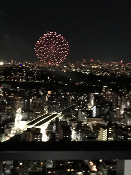 No.441  多摩川河川敷の花火
