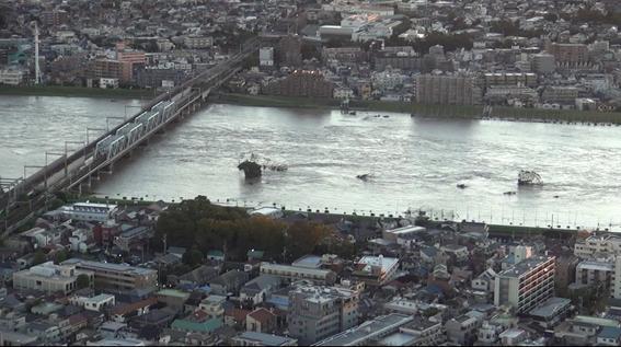 No.475  川崎市さん、今度は多摩川の逆流を止めてくださいね。